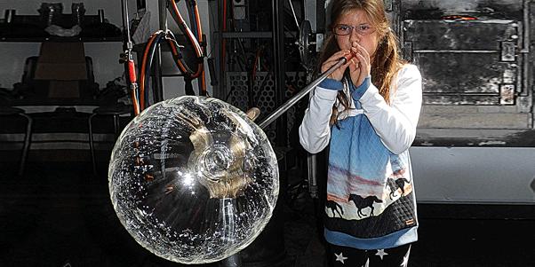 glaskugelblasen